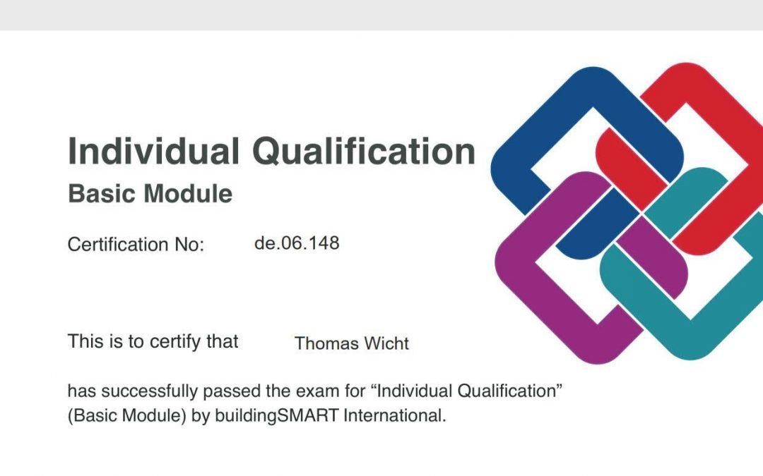 BIM zertifiziert
